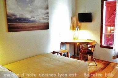 Maison et Chambre d\'hôte Lyon Est proche Villeurbanne & Bron