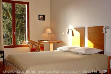 Chambres d\'hôtes de charme Lyon proche Jonage Pusignan Genas